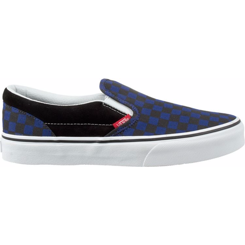 Vans Kids Slip On (Checkerboard/Blue Depths)