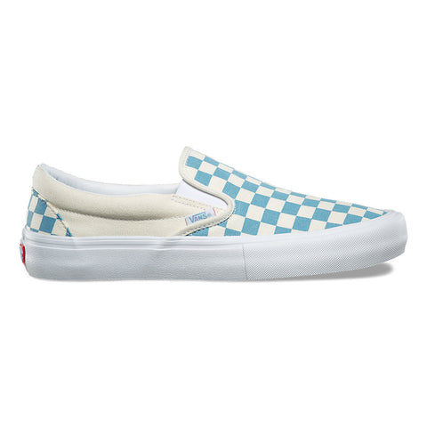 Vans Checkerboard Slip On Pro (Adriatic Blue)