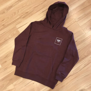VANS PRINT BOX BACK PULL OVER HOODIE (PORT ROYAL)