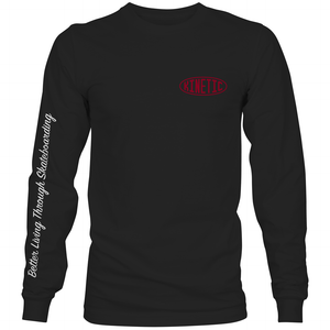 Kinetic Better Living L/S Tee (Black)