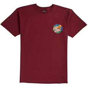 Santa Cruz Dot Blocker T-Shirt (Maroon)