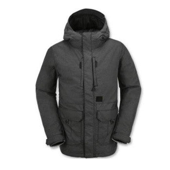 Volcom Range Insulated Snowboard Jacket (Black)