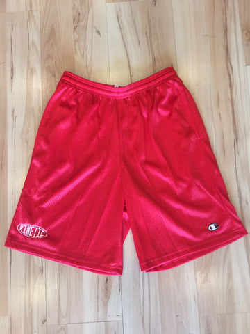 Kinetic x Champion B-Ball Shorts (Red)