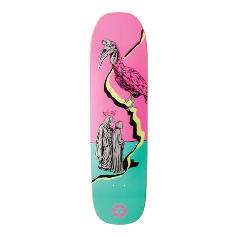 Welcome Inferno On Stonecipher Deck Pink/Teal 8.6""