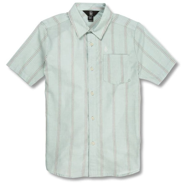 Volcom Rilee s/s Button (Sea Glass)