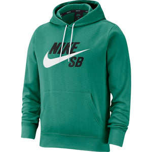 Nike SB Icon Essential Pullover Hoodie (Neptune Green/White)