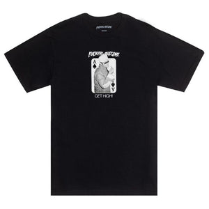 Fucking Awesome Get High T-Shirt (Black)