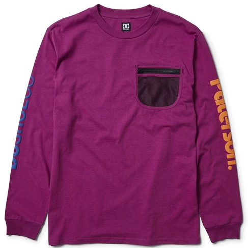 DC Shoes x Paterson Field L/S T-Shirt
