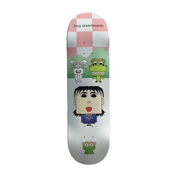 Frog Skateboards Scream Your Dream Deck (8.6)