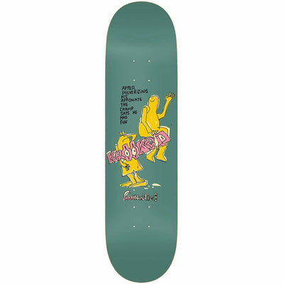 Krooked Gonz The Champ Deck (8.62)