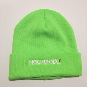 Nocturnal New Era Philly Beanie (Neon)