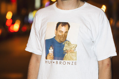 Huf X Bronze Paint Tee