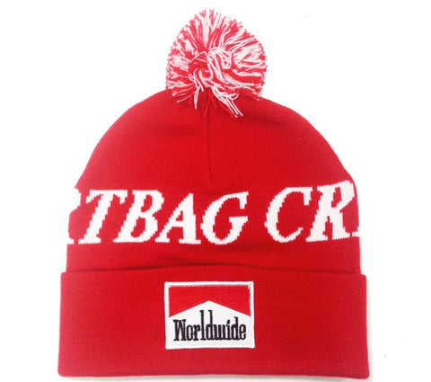 Worldwide DBC Pom Beanie (Red)