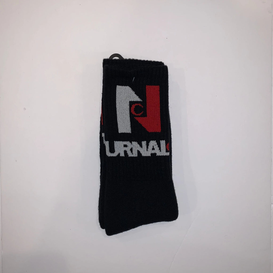 Nocturnal N Logo Socks (Black)