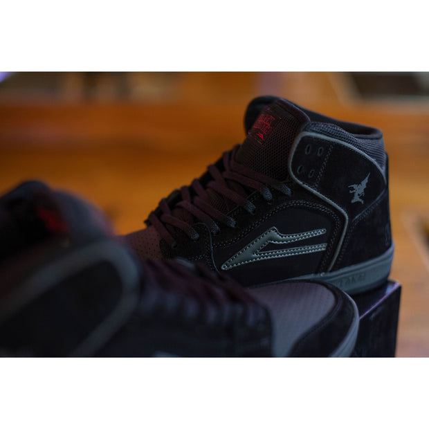 Lakai x Black Sabbath Telford (Black/Grey Suede)