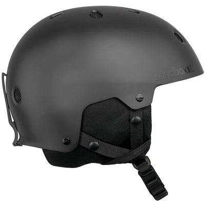 Sandbox Legend Snowboard Helmet (Black)