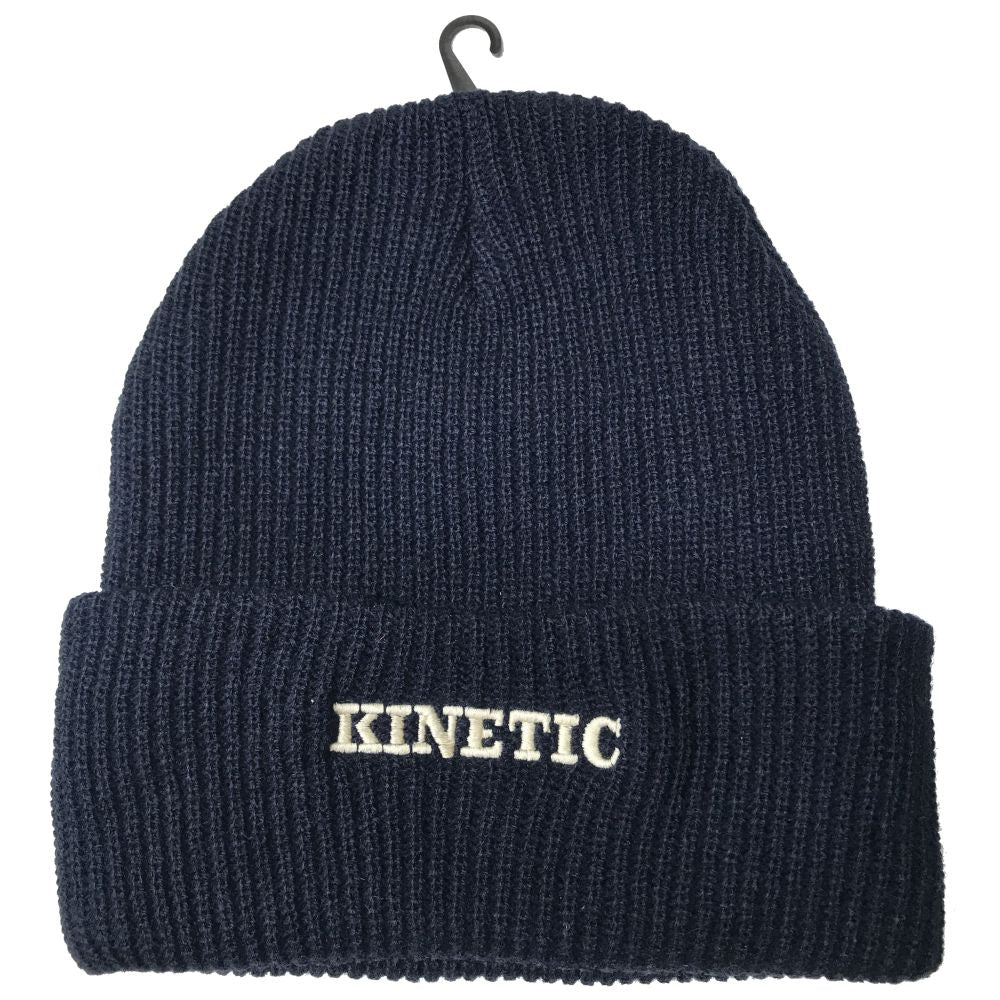 Kinetic EMB Beanie (Navy)