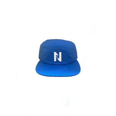 Nocturnal N Logo 5 Panel Cap (Blue)
