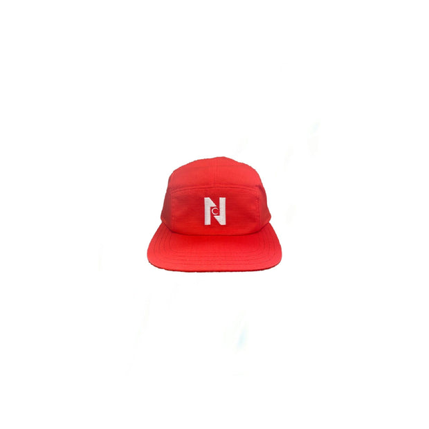 Nocturnal N Logo 5 Panel Cap (Red)