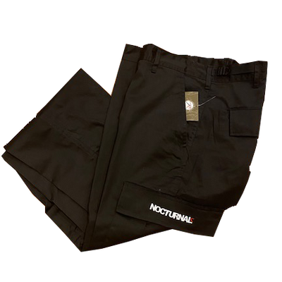 Nocturnal New Philly Cargo Pant (Black)