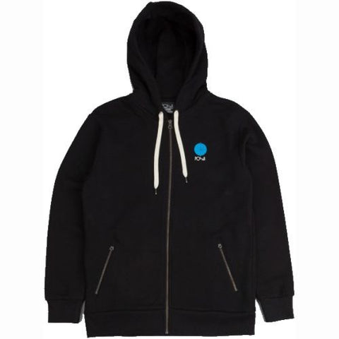 Fill Logo Hoody (Black/Blue)