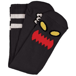 Toy Machine Monster Face Sock (Black)