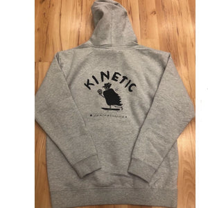 Kinetic Reaper Hoodie (Heather Grey)