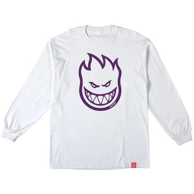 Spitfire Bighead Youth Shirt (White/Purple)