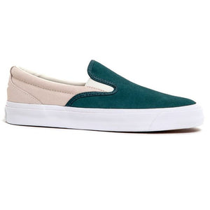 Converse One Star CC Slip On (Faded Spruce/White)