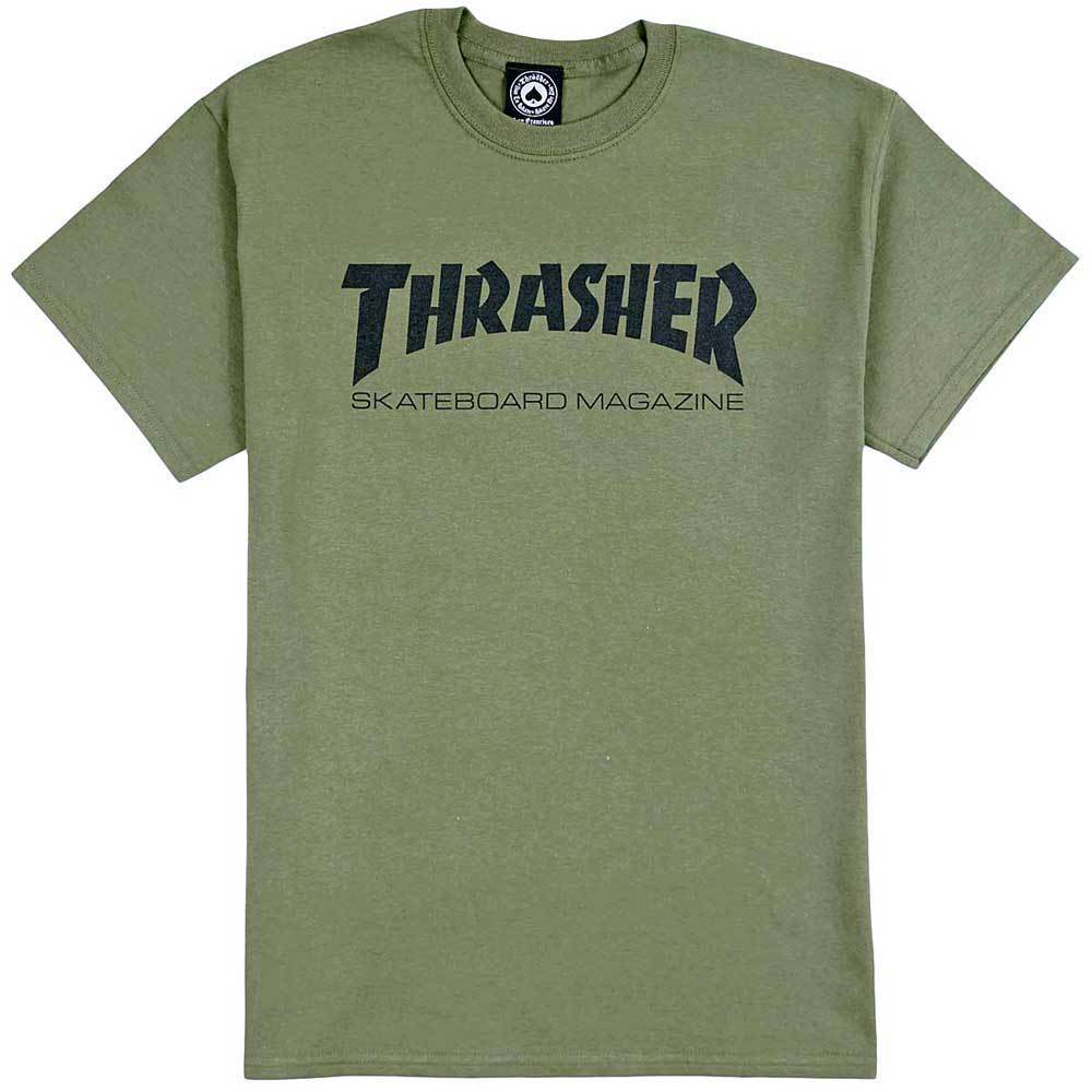 Thrasher Skate Mag T-Shirt (Army Green)