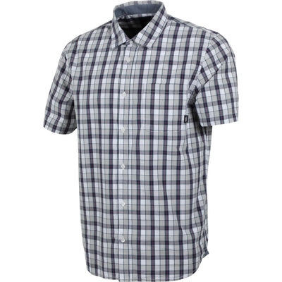 Vans Acton Short Sleeve Button Up (White)