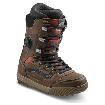 Vans Invado Pro Snowboard Boot 2021 (Brown/Red)