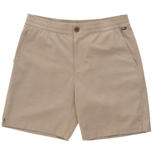 Vans Microplush Decksider Boys Shorts (Military Khaki)