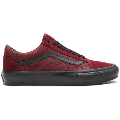 Vans Skate Old Skool Breana Geering (Port/Black)