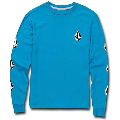 Volcom Deadly Stones L/S Youth Shirt (Aqua)
