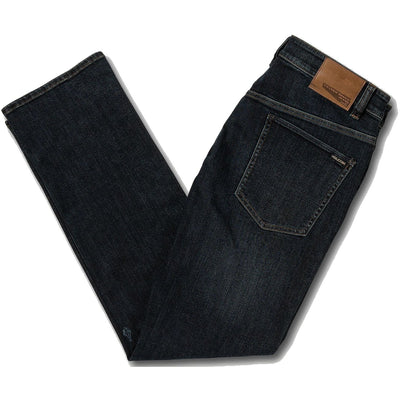 Volcom Solver Denim Pants (Vintage Blue)