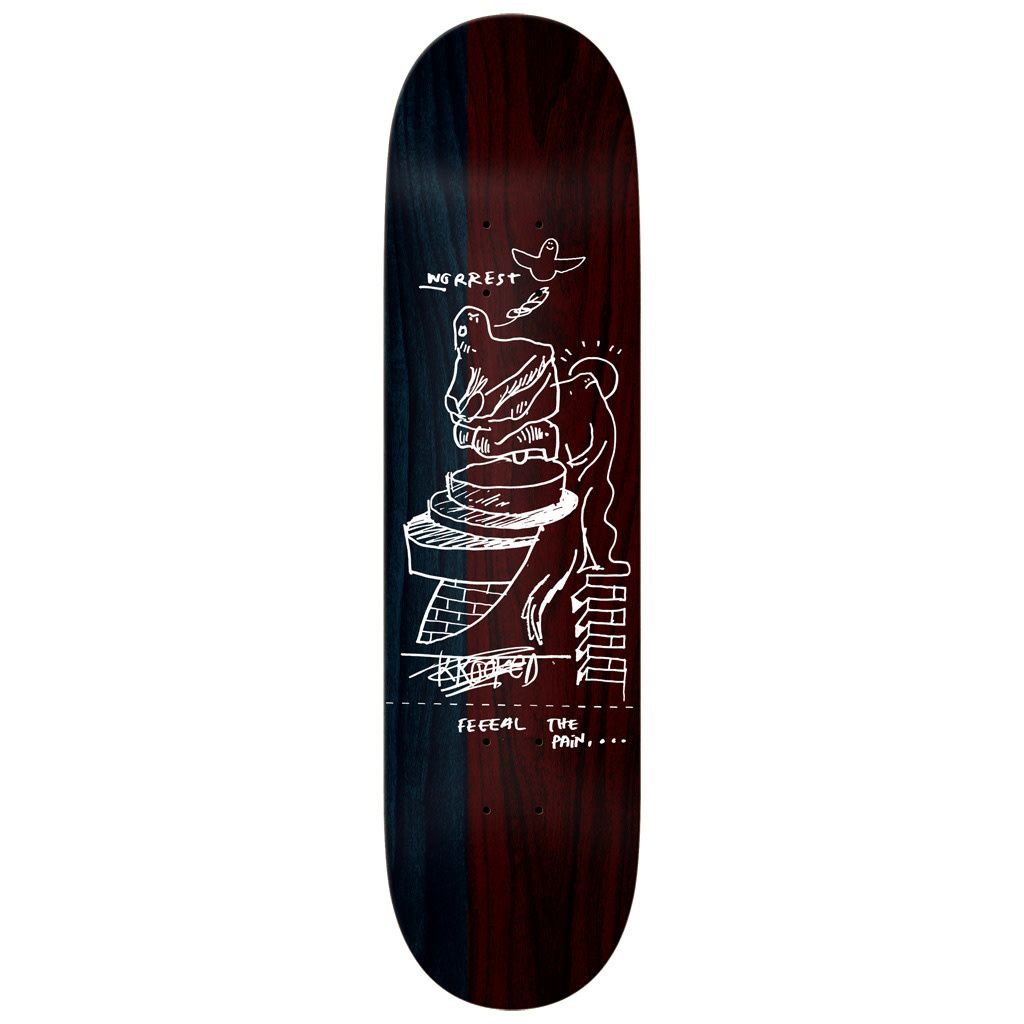 Krooked Worrest FTP Twin Tail Slick Deck (8.3)