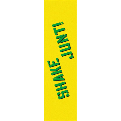 Shake Junt Sprayed Griptape (Yellow/Green)
