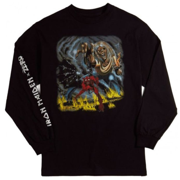 Zero x Iron Maiden Number of the Beast L/S Shirt