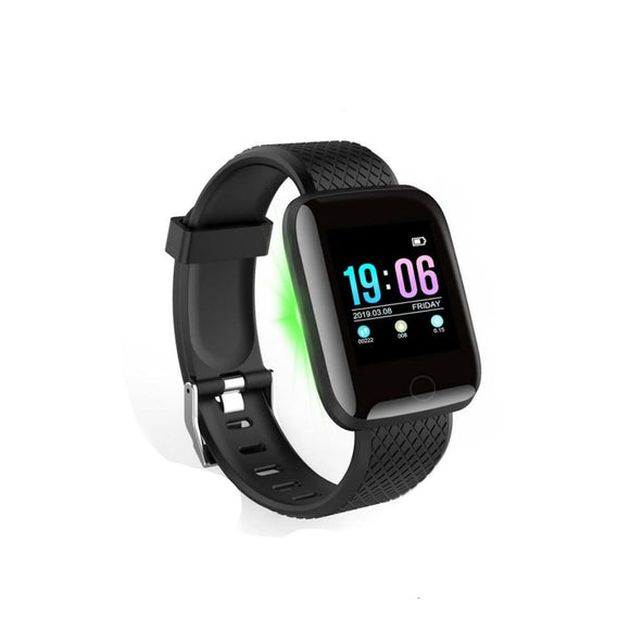 Blood Pressure Heart Rate Monitor Fitness Tracker  Sport women's smart watch For Android IOS
