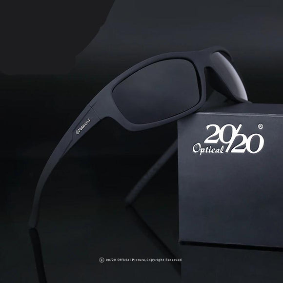 Optical Brand Design New Polarized  Male  Sunglasses  With Box