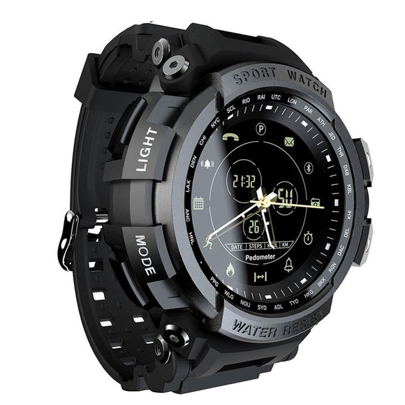 Sports 50m Waterproof Bluetooth men Smart Watch For ios and Android