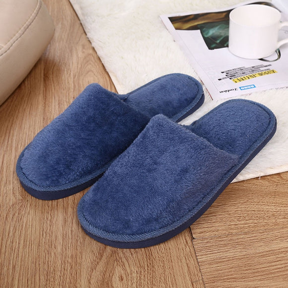 Fleece Floor warm soft indoor slippers