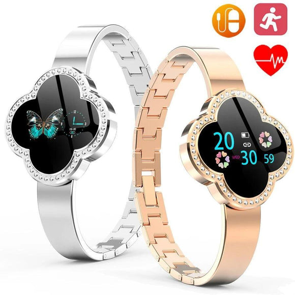 Women Smart Watch Bracelet  Blood Pressure Heart Rate Monitor Fitness Tracker Wristband