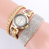 Fashionable Golden Chain Lady's Bracelet watch