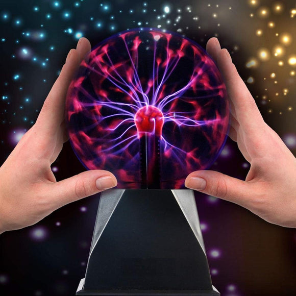 Magic Plasma Ball Desk Lamp Light Nebula Sphere Lightning Globe Glass Balls