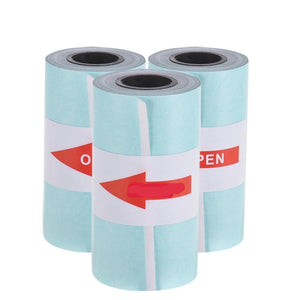 Direct Thermal Paper with Self-adhesive A6 Printable Sticker Paper Roll