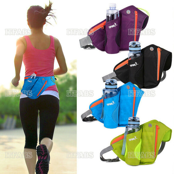 Women Men Running Belt Bags Jogging Cycling Waist Pack