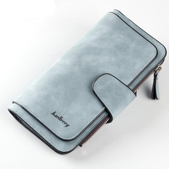 Brand Leather  High Quality Long  Card Holder Ladies Wallet