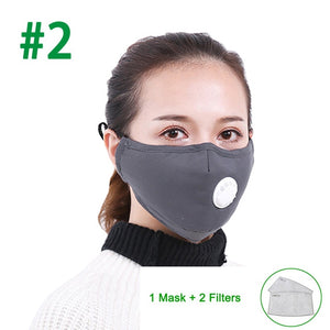 Anti Pollution N95/PM2.5 Mask Dust Respirator Washable Reusable Masks